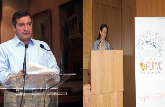 Συνάντηση πραγματοποίησαν τα μέλη της Κι.Πο.Κ.Α. με τον Δήμαρχο Αθηναίων κ. Γ. Καμίνη την Παρασκευή 25/4/14 και συζήτησαν θέματα που αφορούν το κέντρο της Αθήνας .
